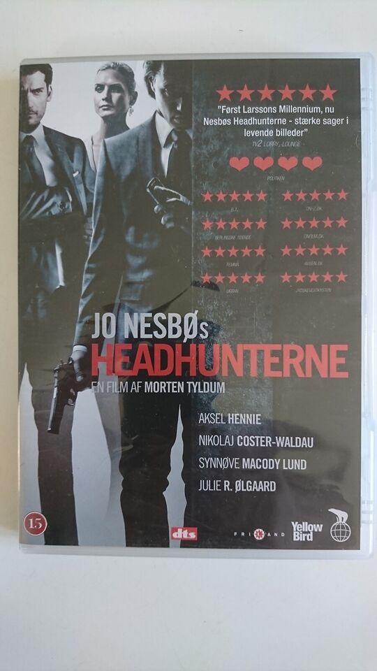 Headhunterne, instruktør Morten Tyldum, DVD