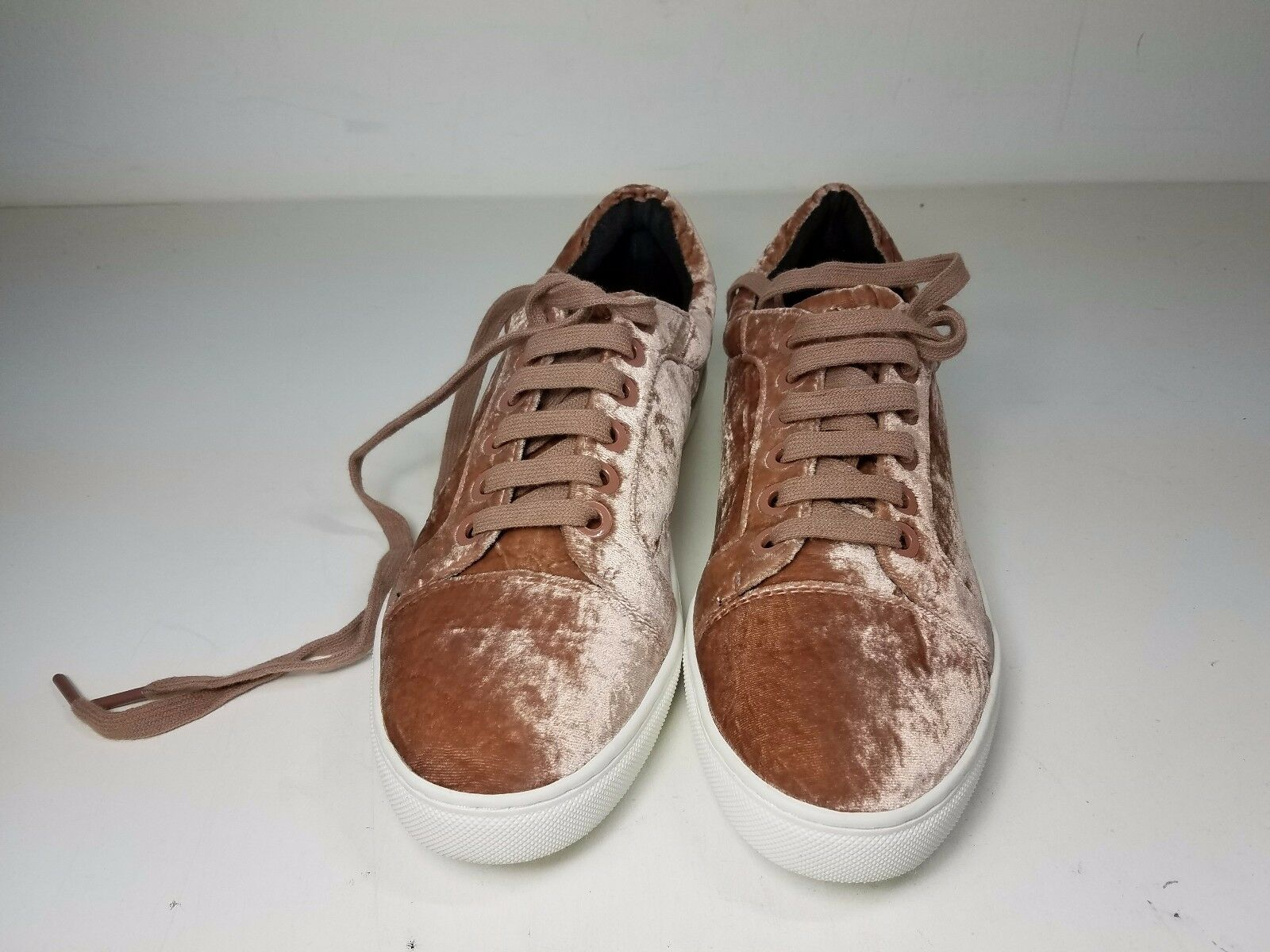 150 size 9.5 Rebecca Minkoff Minkoff Minkoff Bleecker Too Velvet Berry Smoothie Sneakers shoes 5fd6e6