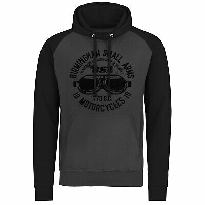 2019 Neuer Stil Officially Licensed Birmingham Small Arms Goggles Baseball Hoodie S-xxl Sizes Letzter Stil