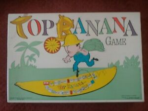 Vintage Top Banana Game 1965 Never Played!