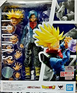 Trunks Dragon Ball Z - Bandiguilles Figuarts 16cm Nations Tamashi Nuova