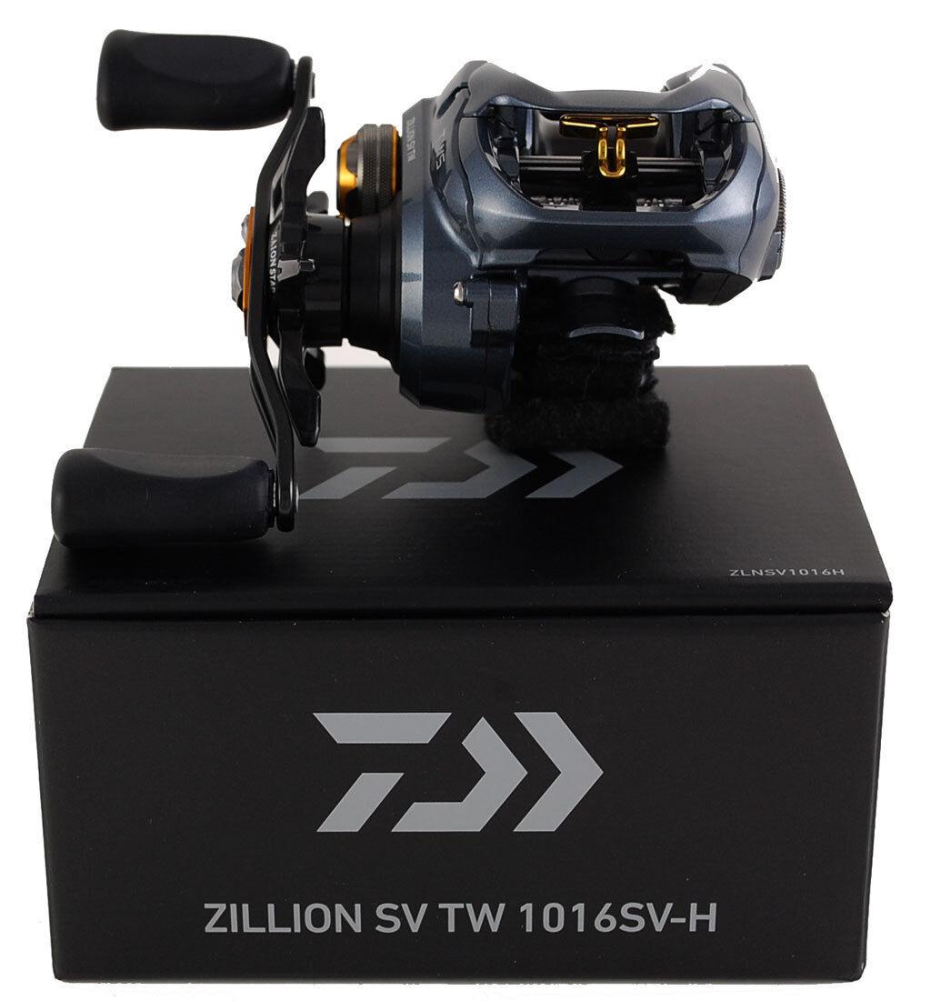 Daiwa Zillion versión especial Tw 1016SV-H zlnsv 1016 H 6.3  1 Carrete De Mano derecha Giratorio