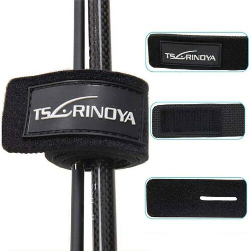 5pcs Fishing Bag Rod Tie Strap Belt Wrapping Band Pack Pole Holder Storage ss