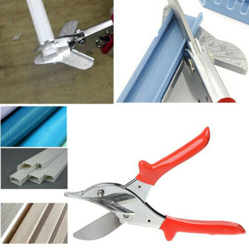 Tube Pipe Plastic Trim Cutter Shear Multi-Angle Anvil Window Gasket Conduit