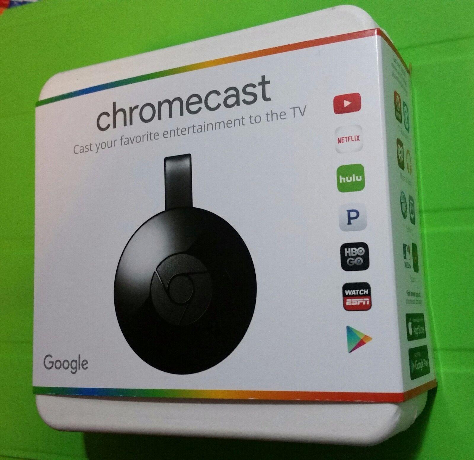 Google Chromecast 2 Digital HD Media HDMI Streamer NC2-6A5