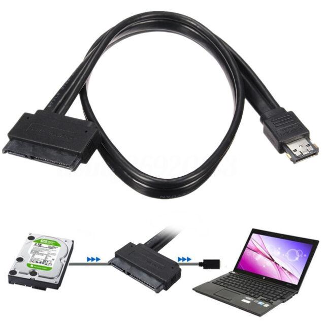 Dual Power eSATA USB 12V 5V Combo A 22Pin SATA USB Hard Disk Cavo Adattatore