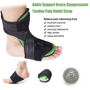 Ankle-Support-Brace-Compression-Tendon-Relief-Pain-Strap-Foot-Sprain-Injury