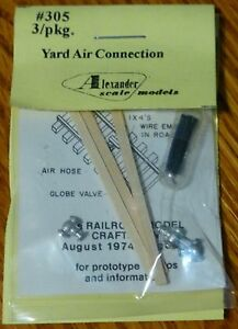 Alexander Scale Models #305 Yard Air Connection/3 (Kit form)