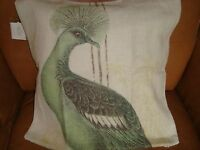 Pottery Barn Peacock Cafe Pillow Cover 20 X 20