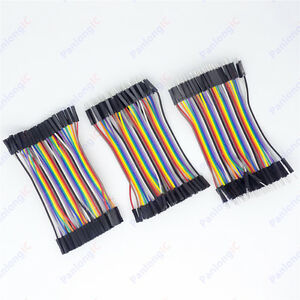 120Pcs-10cm-Good-Male-to-Female-Dupont-Wire-Jumper-Cable-for-Arduino-Breadboard