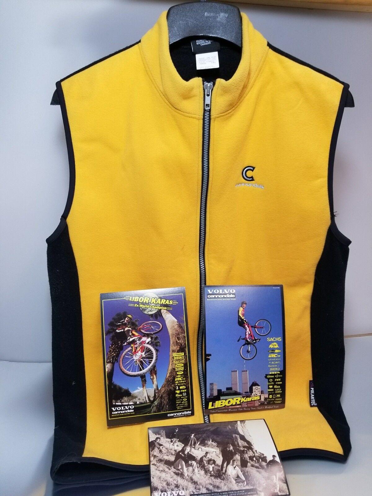 Libor Karas Vintage Cannondale  Cycling Vest  95-96 personal
