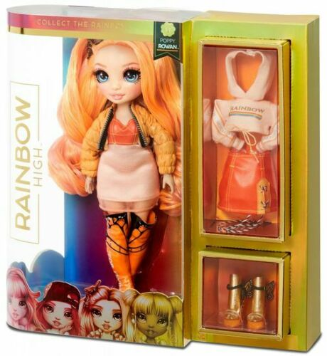 NUOVO Rainbow High bambola Poppy Rowan