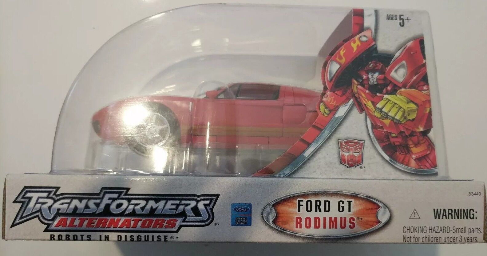 Hasbro Transformers Alternators Ford GT Rodimus (Hot Rod)