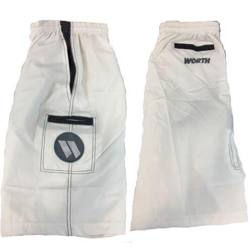 Worth Microfiber Shorts WHITE//BLACK 3XL