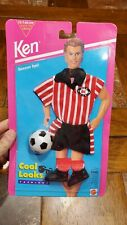 Mattel Barbie Ken Cool Looks 1994 Fashions Soccer Fun NEW