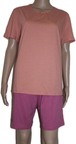 Schiesser  Schlafanzug Pyjama kurz Shorty SK311 Damen Seidensticker