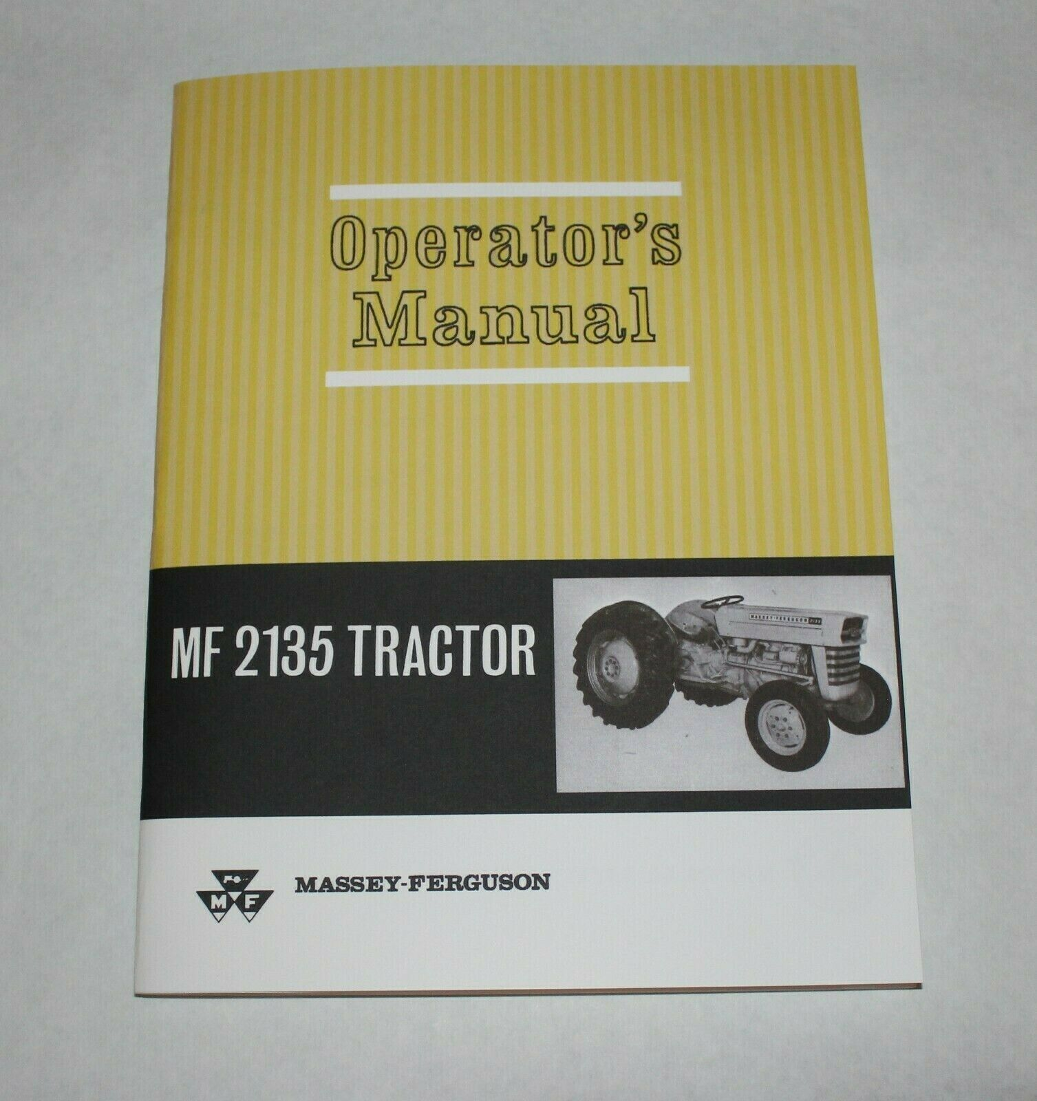 SET MASSEY FERGUSON 2135 TRACTOR OWNERS OPERATORS PARTS BOOK MANUAL CATALOG