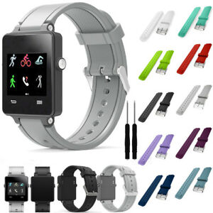 Silicone-Strap-Band-Replacement-Soft-For-Garmin-Parts-Watch-Vivoactive-Sports