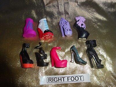 Monstruo ALTO MUÑECA Impar Zapato Bota Pick n Mix De £ 1 por zapato.