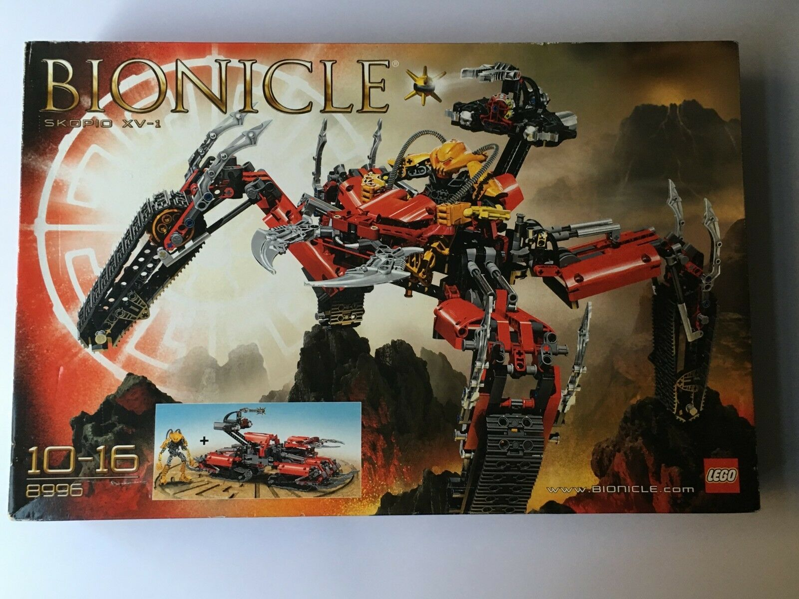 LEGO 8996 BIONICLE SKOPIO XV-1 NISB new sealed nuovo sigillato