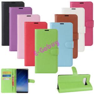 Retro-Magnetique-Portefeuille-Cuir-Carte-Solt-Etui-pour-Samsung-Galaxy-Note-8