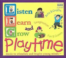 Listen, Learn, & Grow: Playtime, New Music