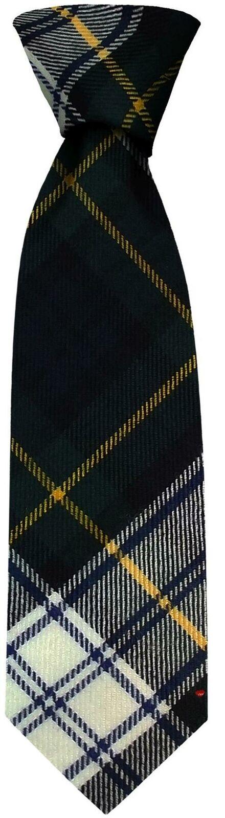 Clan Corbata Gordon Vestido Moderno tartán escocés hecho a Mano Corbata De Lana Pura