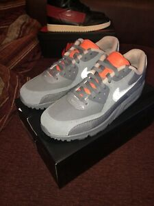 Details zu Nike Air Max 90 Bsmnt Glasgow EU 42 US 8.5 DS Neu Waterproof Smoke GreyReflect