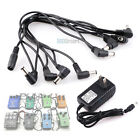Guitar Effect Pedal 8 way Daisy Chain Power Supply Cable with 2A 9V DC Adapter
