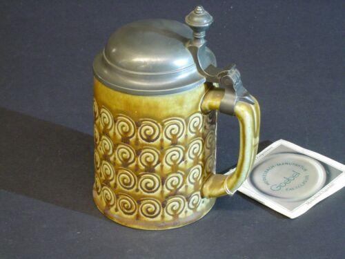 Bierkrug Mod. Nr. 1668 Jugendstil Goebel - Merkelbach Salzglasur - Neuware