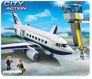 playmobil 5261 city action cargo and passenger aircraft ebay