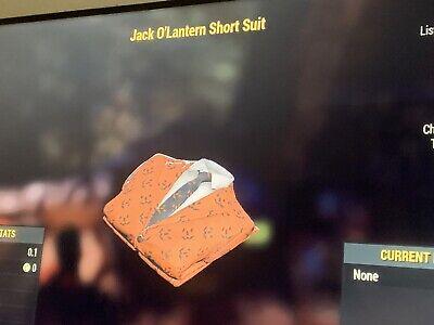 Fo 76 Jack O Lantern Pant Suit