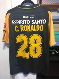 bbef1a1d9 Cristiano Ronaldo CR7 x Sporting Lisbon 2002-2003 Season - Real ...