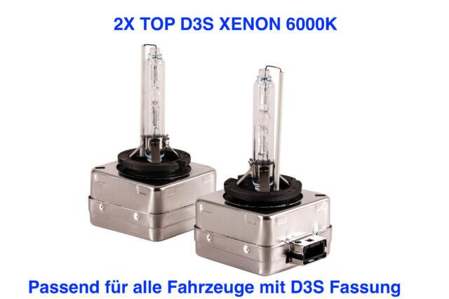 2x D3S 6000K 35w Xenon Ersatz Lampen  Audi A6 4F2 C6 Limo ab 2009
