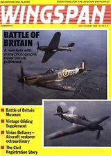 WINGSPAN MAGAZINE 1988 AUG BATTLE OF BRITAIN SPECIAL, MESSERSCHMITT BF 109 E