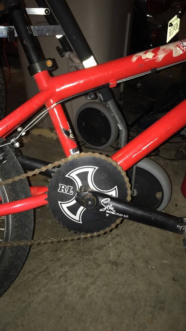 Redline BMX Bicycle Good  Condition  discounts and more