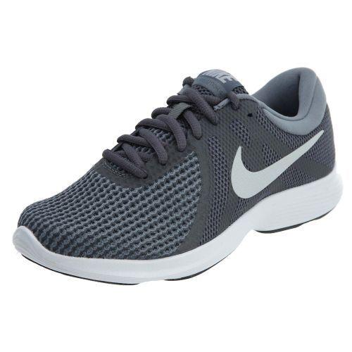 Nike Revolution 4 kvinnor Style  908999 908999 908999 Dark grå  Pure Platinum kvinnor Storlek 8  otroliga rabatter