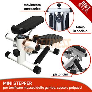 IRON-GYM-MINI-STEPPER-MACHINE-PORTABILE-SALVASPAZIO-ANTISCIVOLO-PALESTRA-STEP-UP