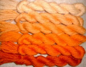 Paternayan Wool 3ply Persian Yarn Needlepoint Crewel 750 Old Gold Family