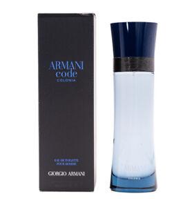 Armani Code Colonia by Giorgio Armani 4.2 oz EDT Cologne for Men New In Box