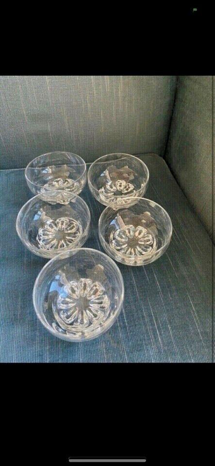 Glas, 5 skåle