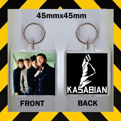 ROCK BAND KASABIAN 45 X 45mm KEYRING-KEY CHAIN GREAT GIFT FOR FAN
