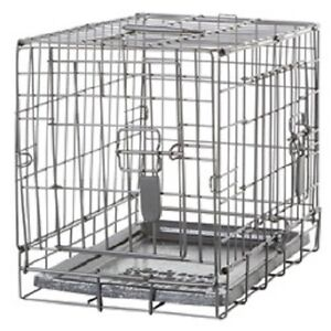 Dogit Two Door Wire Home Dog Crates With Divider Xsmall 18