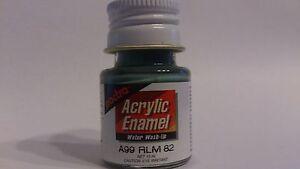 Pactra-Paint-A99-Darkish-Green-SG-Acrylic-Enamel-Water-WashUp-10ml-Bottle