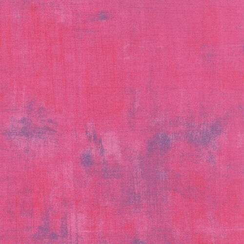 Moda Fabric Grunge Berry Pink Pink Quilting Fabric Sold Per 1//4 Metre
