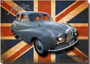 Austin A40 Somerset Metal Sign Vintage British Motor Cars
