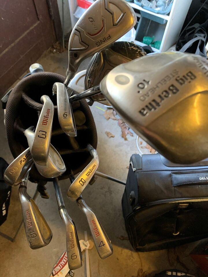 Begynder golfsæt, stål