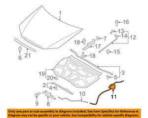 S0292 FRONT LEFT ENGINE MOTOR MOUNT For 1998-2002 HONDA ACCORD 2.3L