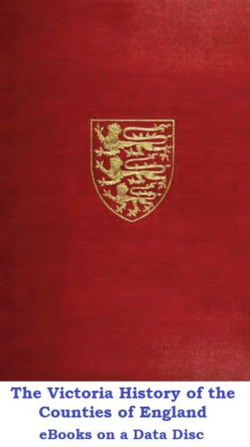The Victoria History of the Counties of England 67 PDF eBooks on a Data Disc