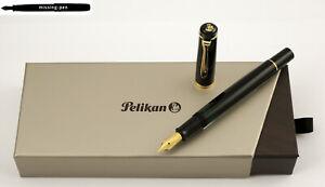 nibs sizes EF, F, M, B or BB M 205 in White Pelikan Piston Fountain Pen M205